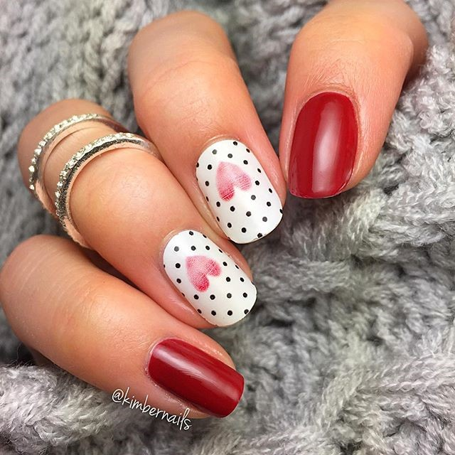 Turbo Nail Art: 15 romantic ideas for your S. Valentine Day – 40nagers FI89
