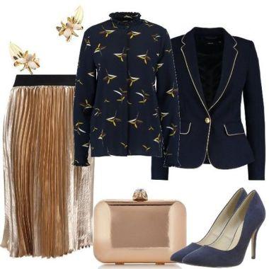 Blu e dorato