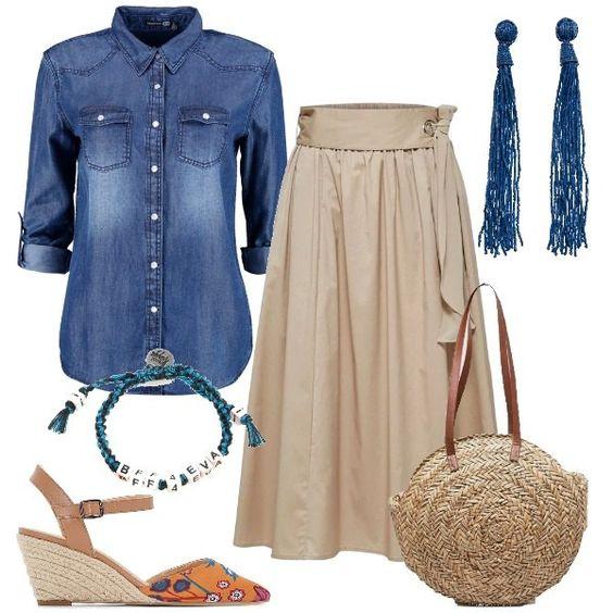 Jeans e sabbia
